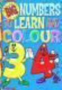 Big and Easy Numbers to Learn and Colour Book