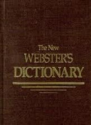 The New Webster's Dictionary