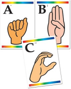 Sign Language Learning Cards with Braille