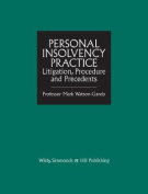 Personal Insolvency Practice: