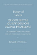 Quodlibetal Questions on Moral Problems