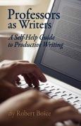 Professors as Writers