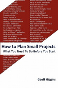 How to Plan Small Projects