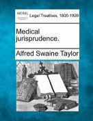 Medical Jurisprudence.