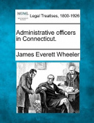 Administrative Officers in Connecticut.