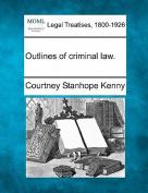 Outlines of Criminal Law.