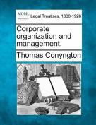 Corporate Organization and Management.