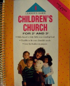 Children's Church: For 2 & 3