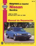 fits Nissan Sentra 1982 Al 1994 [Spanish]