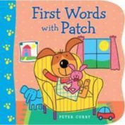 First Words With Patch [Board book]
