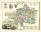 Thomas Moule Map of Dorsetshire 1836
