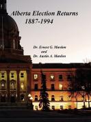 Alberta Elections Returns 1887-1994