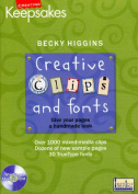 CD Clips & Fonts by Becky