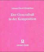 Der Generalbass in Der Komposition