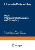 Neue Informationstechnologien Und Verwaltung [GER]