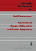 Automatische Komplexiteatsanalyse Funktionaler Programme [GER]