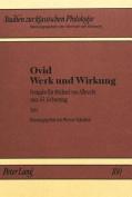 Ovid - Werk Und Wirkung [GER]