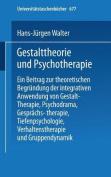 Gestalttheorie und Psychotherapie  [GER]