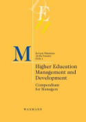 Higher Education Management and Development
