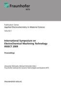 International Symposium on Electrochemical Machining Technology INSECT