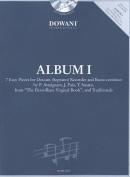 Album Volume 1 (Easy) for Descant (Soprano) Recorder and Basso Continuo