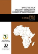 Report of the African Commission's Working Group on Indigenous Populations/Communities