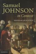Samuel Johnson in Context