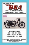Book of the BSA Ohv & Sv Singles 1945-1954 250cc - 350cc - 500cc & 600cc