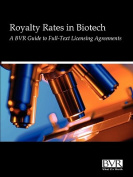 Reasonable Royalty Rates in Biotech