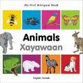 My First Bilingual Book-Animals (English-Somali) [Board Book]