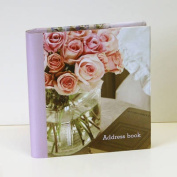 Romantic Country Flowers Large Address Book