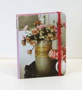 Romantic Country Flowers Mini Notebook