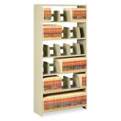 Snap-Together Steel Six-Shelf Closed Starter Set, 48w x 12d x 76h, Sand