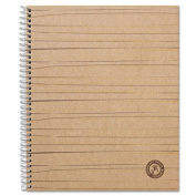 Universal 66208 Sugarcane Based Notebook College Rule 11 x 8 1/2 White 100 Sheets/Pad