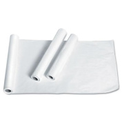 """Exam Table Paper, Deluxe Smooth, 21"""" x 225ft, White, 12 Rolls/Carton"""