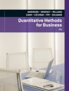 Quantitative Methods for Business [With Access Code]
