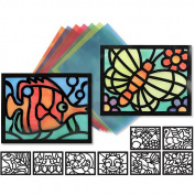 Melissa & Doug Stained Glass Frames