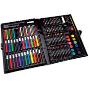 Artyfacts Portable Art Studio Deluxe Kit - 120 Piece