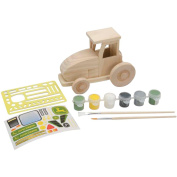 MasterPieces Puzzle Company 21009 John Deere Wood Paint Kit - Tractor