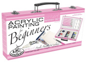 Pink Art For Beginners Artist Set, Acrylic Painting