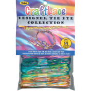 Craft Lace 25 Feet Package - Tie Dye