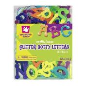 Glitter Dotty Foam Letters - Self Adhesive - 63.8g Tub