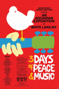 Woodstock - Red - Poster