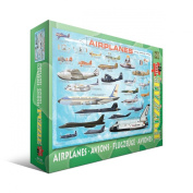 Aeroplanes Jigsaw Puzzle for Kids, 100 pieces Eurographics