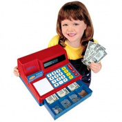 Learning Resources Pretend & Play Calculator Cash Register, Regular, Standard Packaging