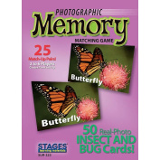 Photographic Memory Game - Insects and Bugs