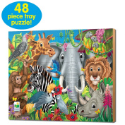 Animals of the World Jigsaw Puzzle - 48-Piece