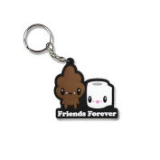 Stinky Poo and T.P. Friends Forever Key Chain