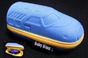 Sunglasses Case: Blue Train