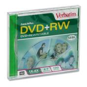 DVD+RW Disc, 4.7GB, 2x, w/Jewel Case, Pearl